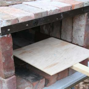 DIY Brick Pizza Oven Plans This pizza oven can be broken down after you make brick oven pizza! more here: http://www.gardenfork.tv/more-brick-pizza-oven-plans-photos