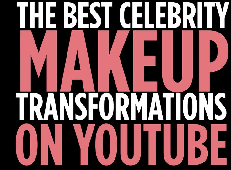 Check out the best celebrity makeup transformations by youtube stars
