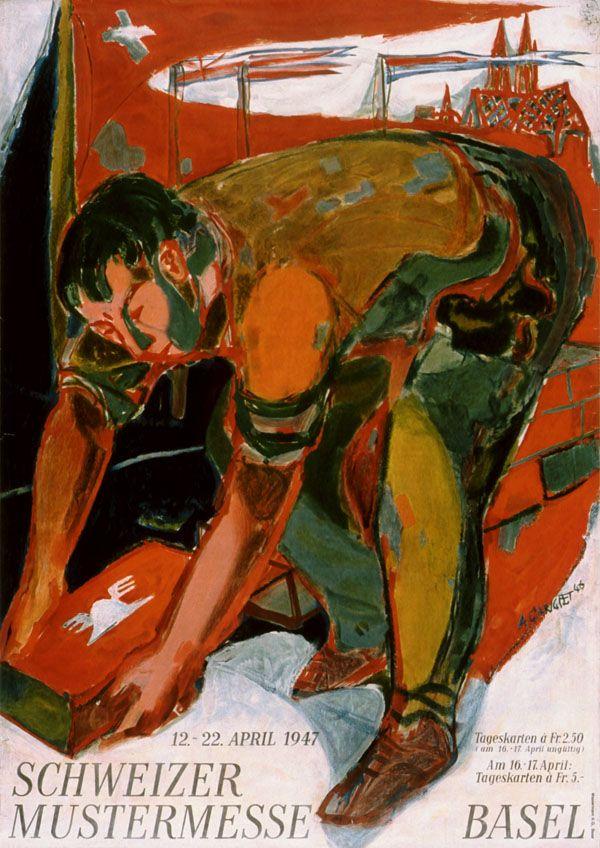 Alois Carigiet, Schweizer Mustermesse Basel, 1947
