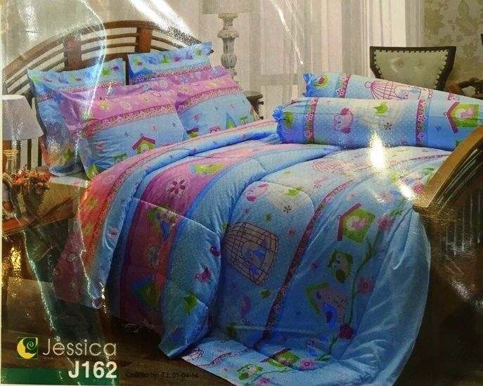 Создайте вашу неповторимую, роскошно уединенную спальню, богато облаченную в элегантное постельное белье от Jessica. В наборе уникальное одеяло, которое не нужно заправлять в пододеяльник!