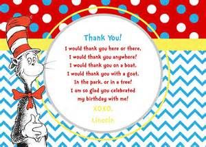 7 best thank you gifts images on pinterest birthday party ideas cat in the hat inspired printable thank you cards bookmarktalkfo Choice Image