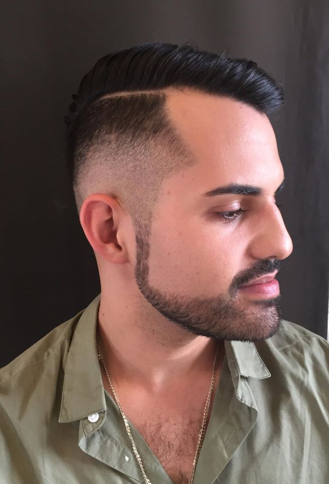 In Salon Work Today - Kayla Giannoccaro's Italian heritage is obvious in this perfect Gent's Cut. Phone 011 391 3105/6 or 071 267 4399 for an Appointment with this talented Pasquale Stylist.