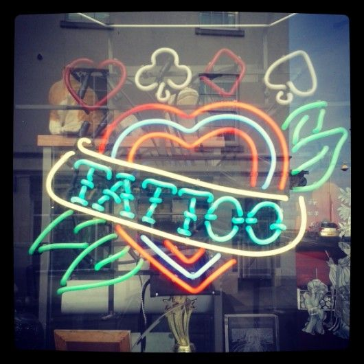 17 best images about neon signs on pinterest neon for Neon tattoo signs