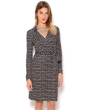 Diane Von Furstenberg New Jeanne Silk Dress $159.00 # ...