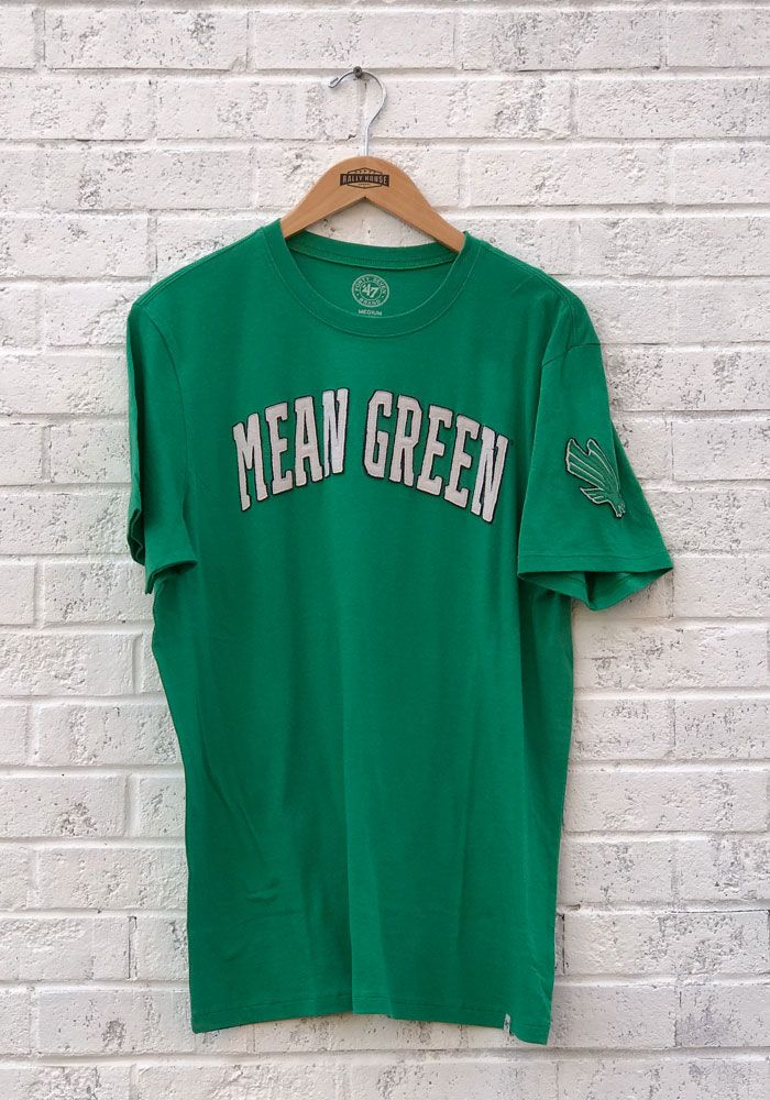 93cde52c 47 North Texas Mean Green Green Fieldhouse Short Sleeve Fashion T Shirt -  Image 1