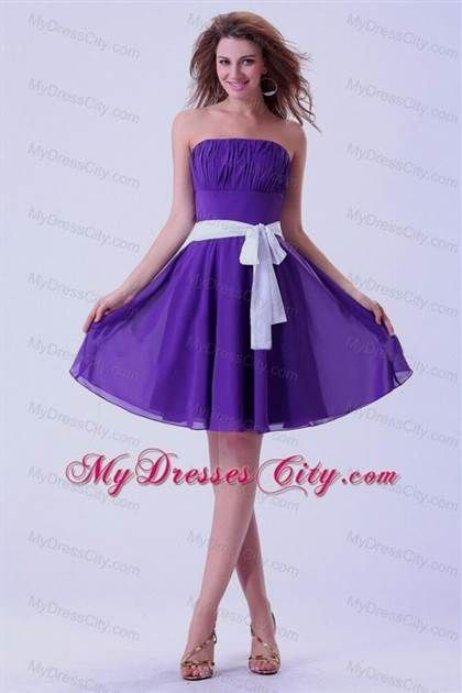 Awesome purple and white dresses for juniors 2018