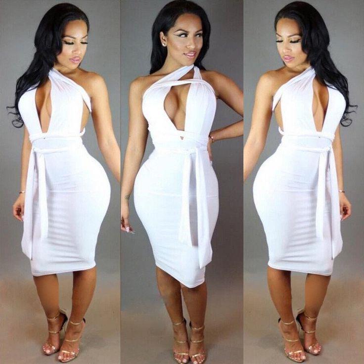 Backless Strapless Pleated Bandage Elegant Party Dress - CELEBRITYSTYLEFASHION.COM.AU - 2