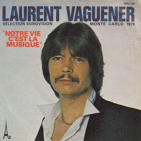 """""""Notre Vie C'est La Musique"""" performed by Laurent Vaguener. Monaco @ Eurovision 1979."""