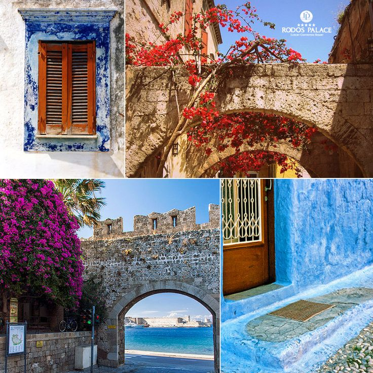 Enjoy the #Summercolors of #Rodoscity!! Wander in the island and discover all its beauties!!  www.rodos-palace.com