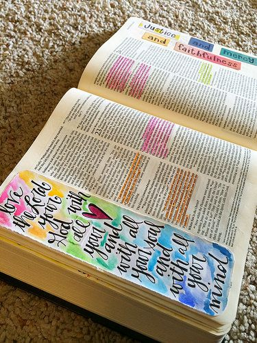 Bible Journaling Supplies {Pitter Patter Art}