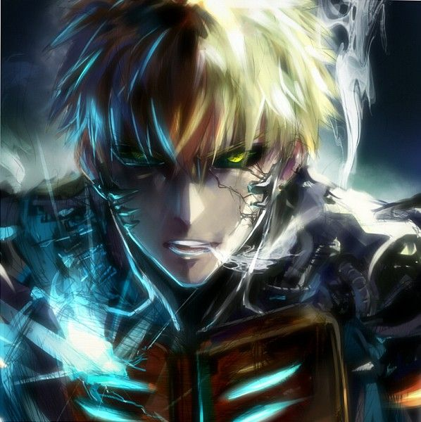 Cars, Games, Anime, & Shit for Special Snowflakes. — Genos, you sexy fucker, you. Such a badass.