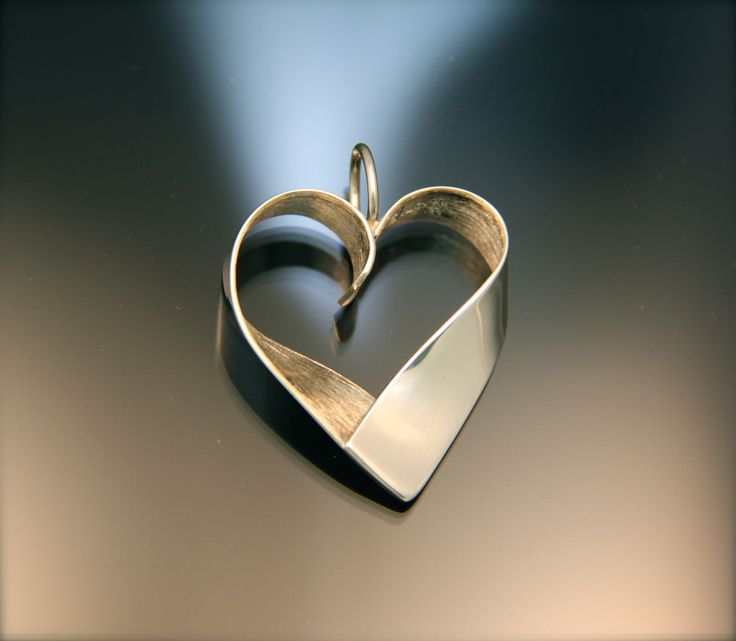 Simple but so fine Sterling silver Heart