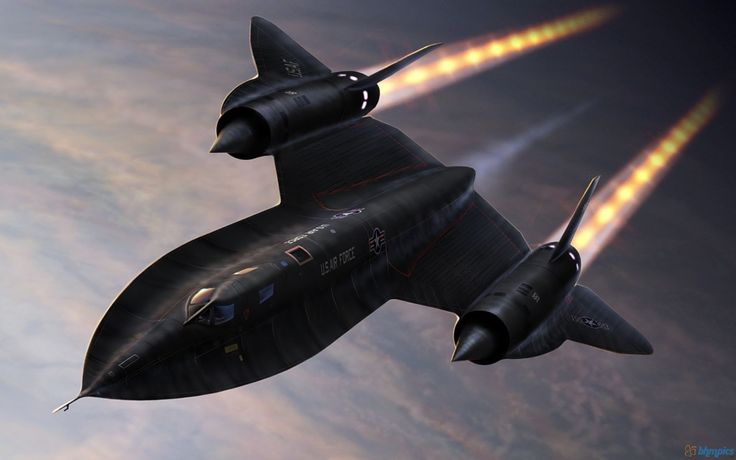 Les Ailes De Légende  - Sr71 Blackbird - Documentaire complet
