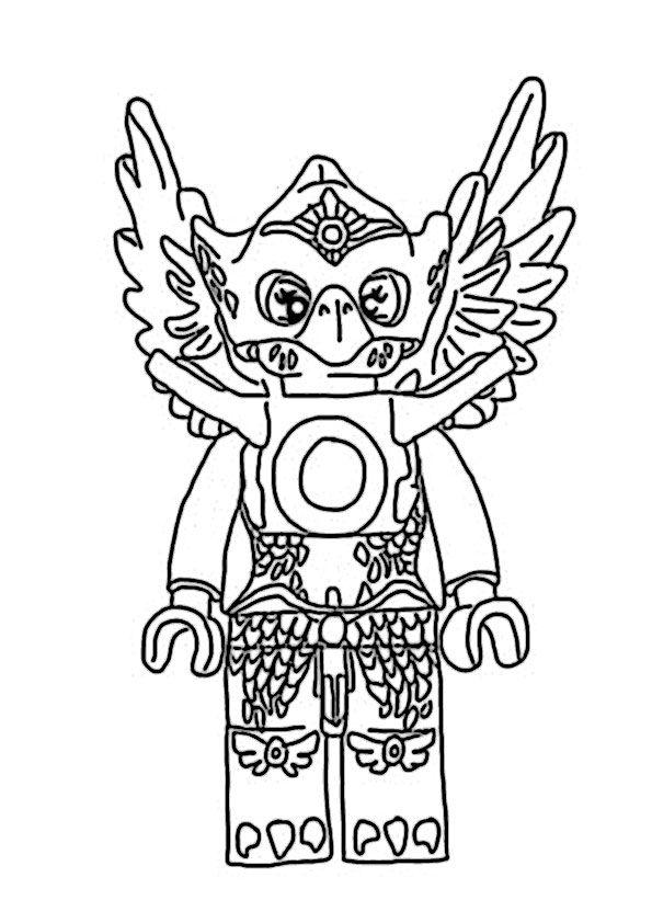 ausmalbilder chima für kinder #lego #ausmalbilder #malvorlagen ...