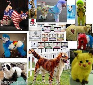 Top Performance PET DOG CAT GROOMING HAIR DYE COLORING GEL Coat Fur *14 Colors