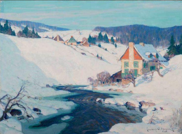 Clarence Gagnon, Quebec Village