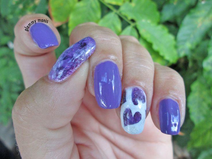 52wkCrumpet20: hearts and purple
