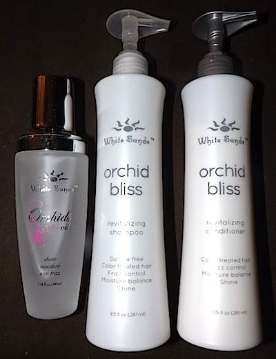 Review, Before/After Photos: Botox For Your Hair? White Sands Orchid Bliss Treatment Set – Shampoo, Conditioner, Serum Oil Mends Split Ends, Damaged Hair