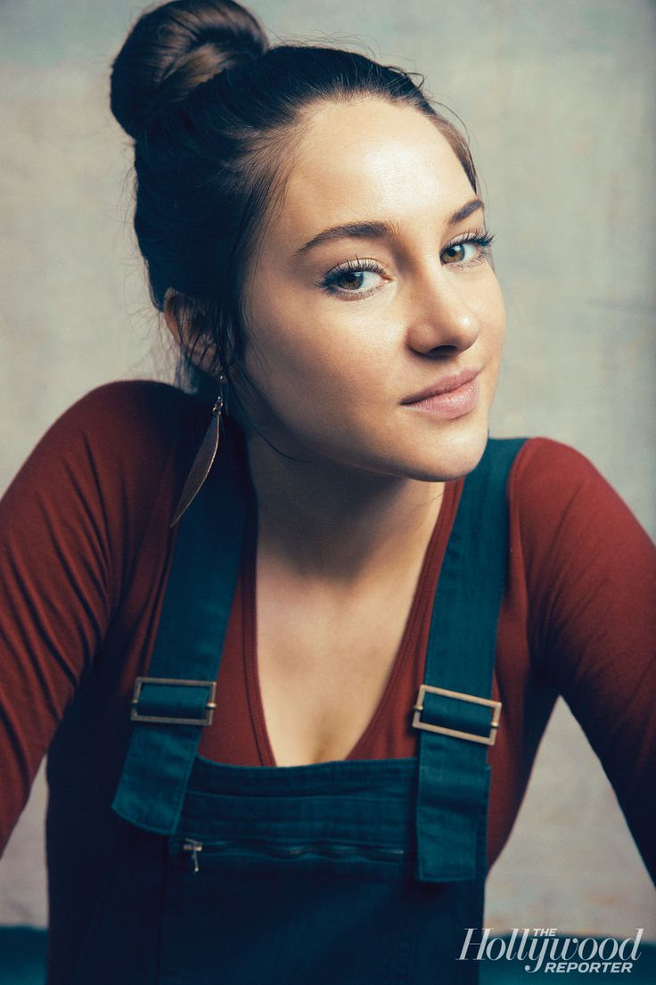 'Divergent' Star Shailene Woodley: Outtakes From THR's Exclusive Photo Shoots