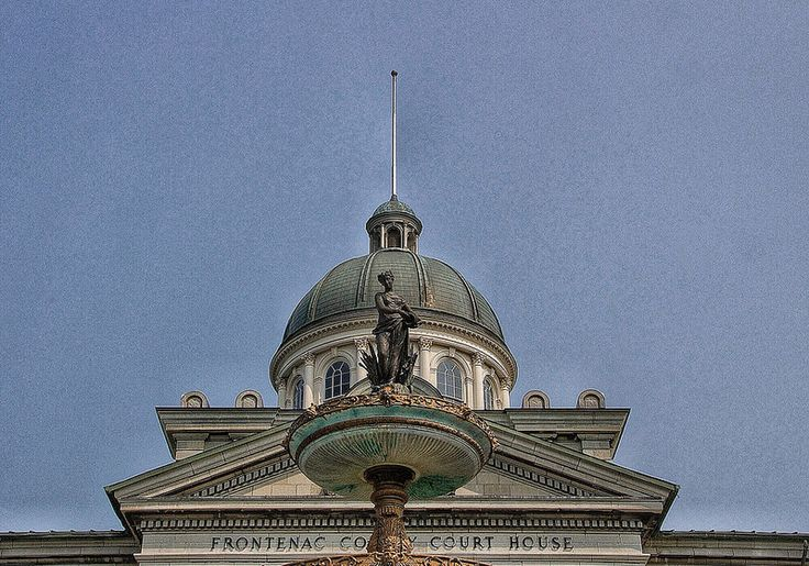Kingston Ontario ~ Canada ~ Frontenac County Court House ~ Heritage Canada is a North American country stretching from the…