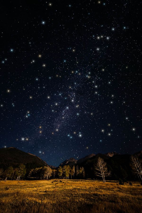 Colorado blows my mind...never seen a meteor shower, but now I really want to. I really want to go but with someone special.