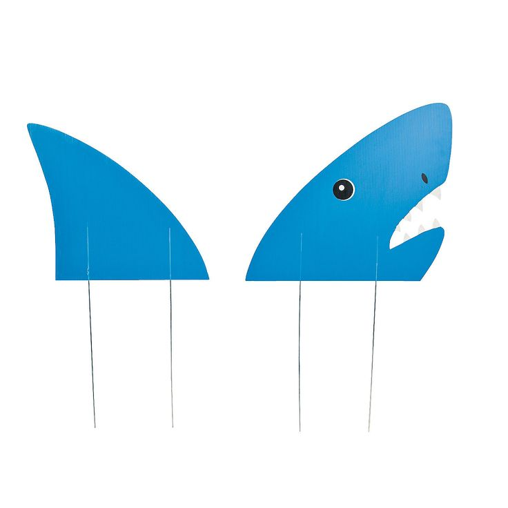 Land Shark Yard Stake - OrientalTrading.com $8.50 1 Set