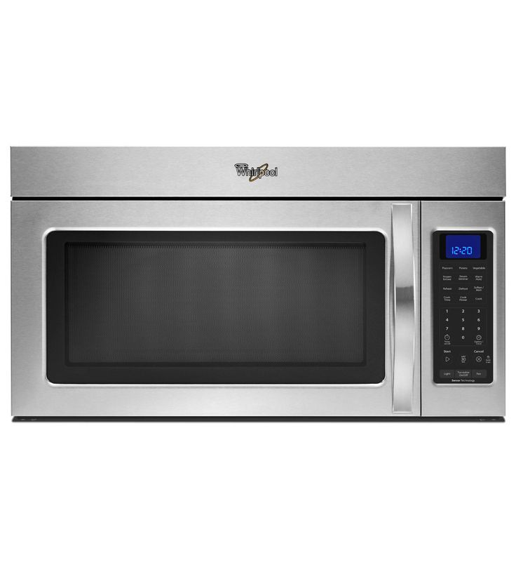 In Range Microwave     Whirlpool® 1.7 cu. ft. Microwave Hood Combination with 1,000-Watts Cooking Power