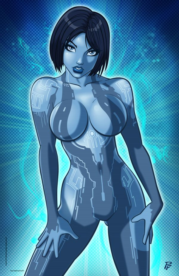 Comic Con Alien Girl Porn - Cortana by PatrickFinch.deviantart.com on @deviantART