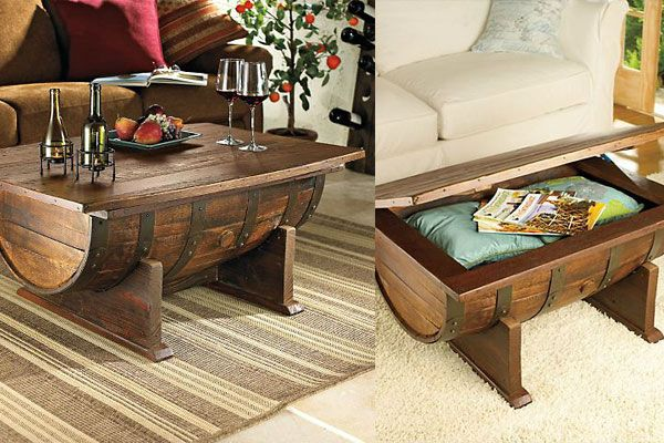 Wunderbar! That's what this whisky barrel coffee table from DIY Projects with Pete is. 100% wonderful. This is a fabulous videos that show the transformation of an old whiskey barrel into a beautiful coffee table. It shows start to finish the project and I am just blown away at how amazing the finished project is. I really like the half barrel on it's base. I would want to leave it like that and make it a…something.