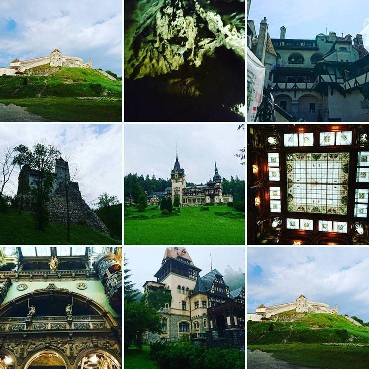 Rumunia  ❤️#bran #zamek #râșnov #peles #czegochciecwiecej