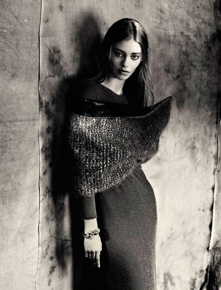Stella, Audrey, Ines, Saskia & others by Paolo Roversi for Vogue Italia September 2014