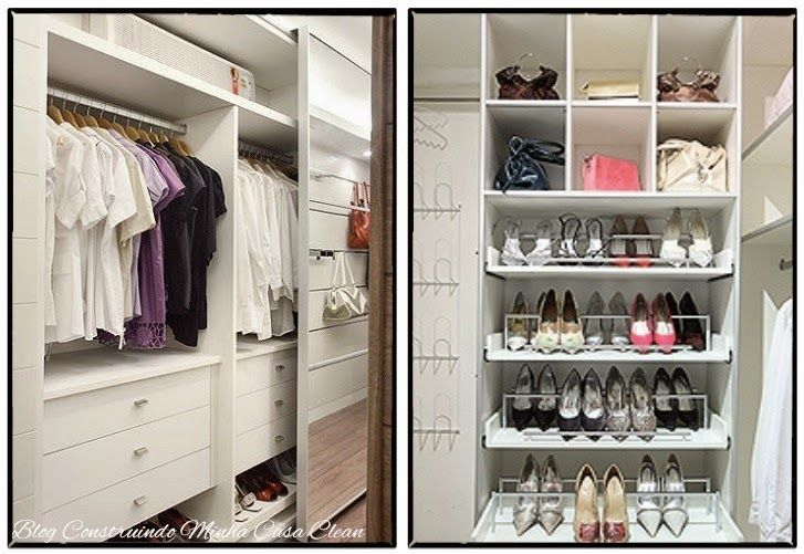 Closet com ou sem porta modelos lindos pequenos e - Placard decor distribution ...
