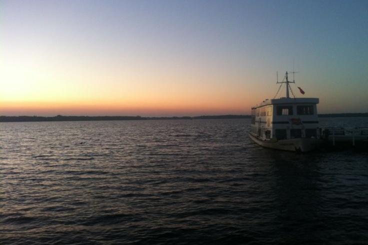 Sonnenuntergang am Bad Zwischenahner Meer