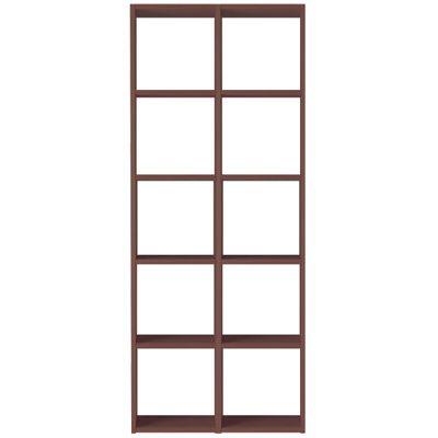 【数量限定】スタッキングシェルフセット・5段×2列・ウォールナット材