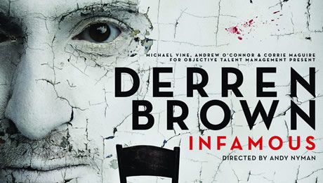 Derren Brown: Infamous Tickets - King's Theatre Glasgow - ATG Tickets
