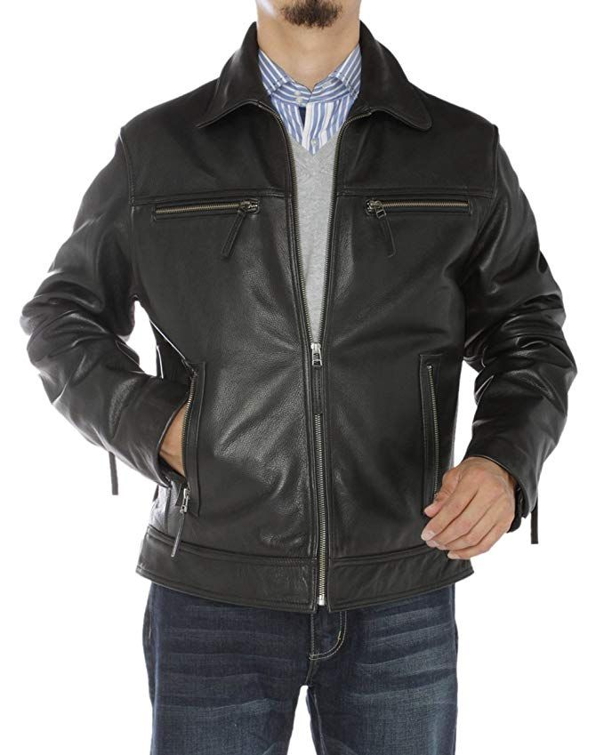 Ln Luciano Natazzi Men S Full Grain Cow Leather Jacket Review Leather Jackets Online Leather Jacket Leather Jacket Men