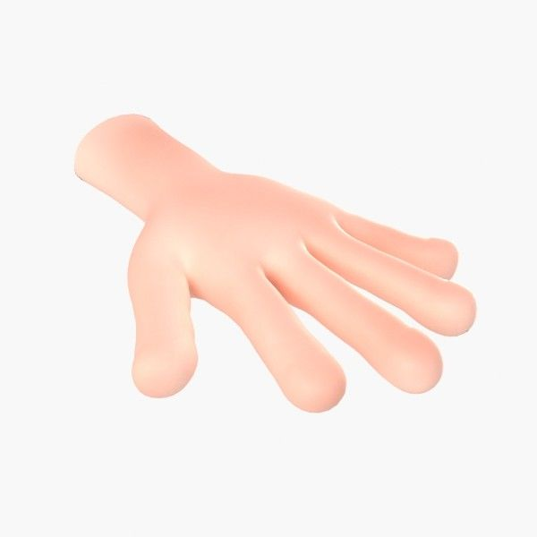 3ds max cartoon hand