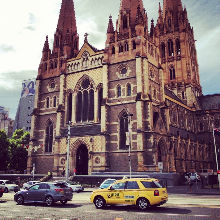 St Paul's Cathedral, Melbourne VIC #australia #travel