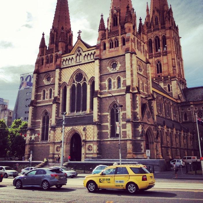St Paul's Cathedral, Melbourne VIC #australia #travel
