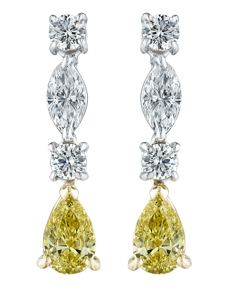 16 best Diamond Earrings by Gordon James images on Pinterest ...