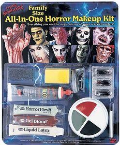 All-in-One Horror Makeup Kit - 357863 | trendyhalloween.com