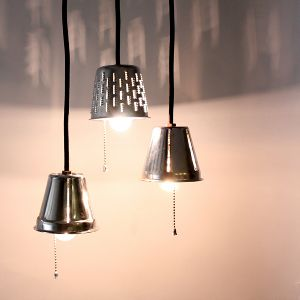 Industrial Grater pendant lights by MFEO
