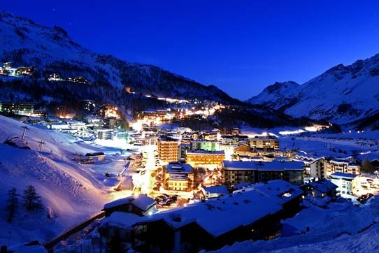 Cervinia Italy for a skiing holiday