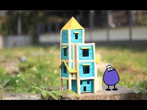 Membuat tongkat rumah es loli untuk burung - Beken.id
