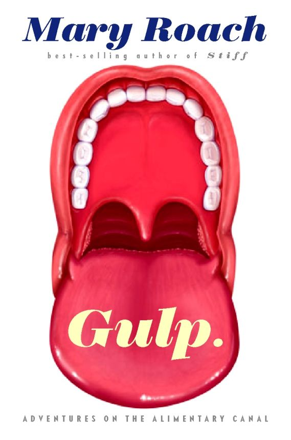 CHIP KIDD Book Cover Jacket - Mary Roach GULP Adventures on the Alimentary Canal
