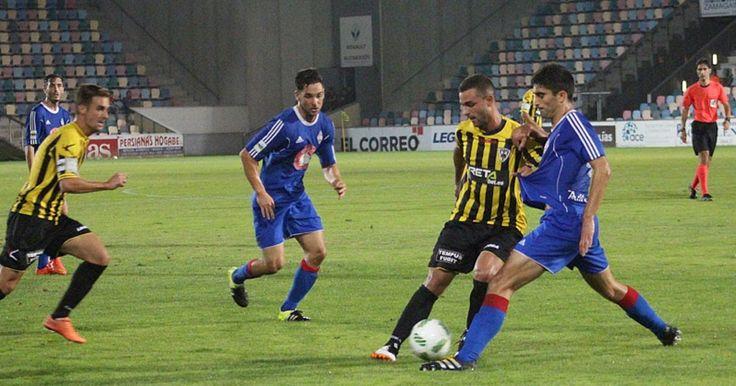 Fútbol   El Barakaldo empata en Amorebieta con un empate con doblete de Etxeba