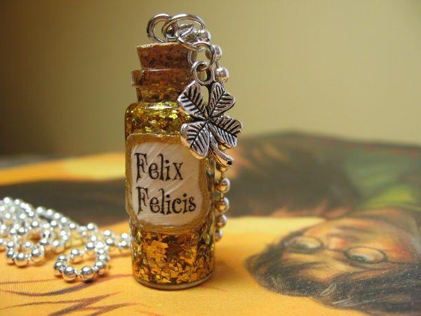 Felix Felicis Liquid Luck Necklace