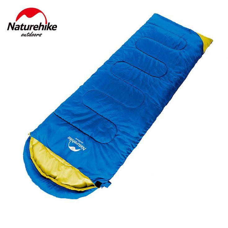 Enchimento de Algodão Envelope NatureHike Ultraleve Tendas de Campismo Saco de Dormir Adulto Primavera Outono Quente Ao Ar Livre Caminhadas Sacos De 2.2*0.75 M