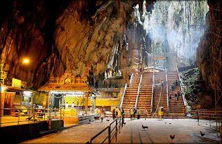 Вход в пещеры Бату - Селангор