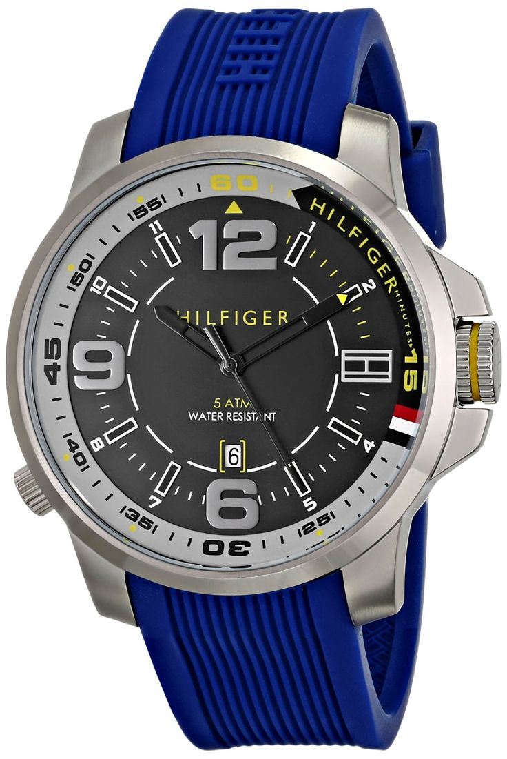 Tommy Hilfiger Men's 1791010 Stainless Steel Watch -- Details can be found by clicking on the image.